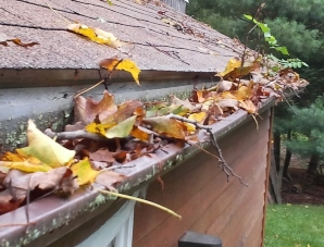 Hudson Valley clogged gutters